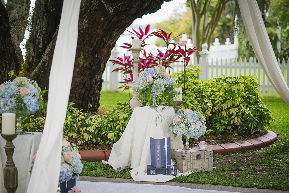 hydrangea palmetto riverside B&B wedding photos