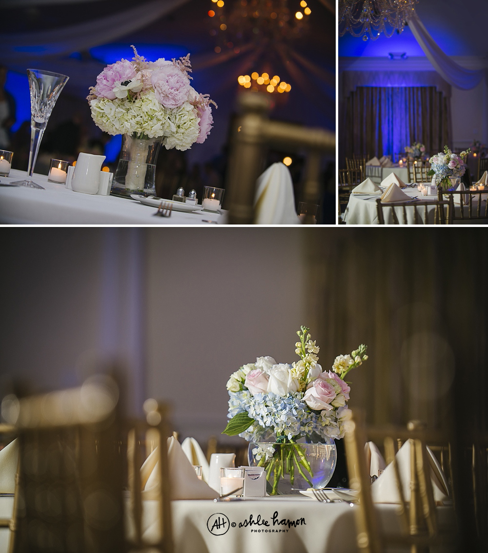 highland manor wedding reception photo