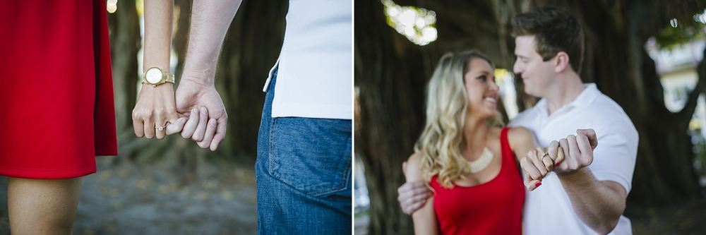 downtown st. pete engagement photos