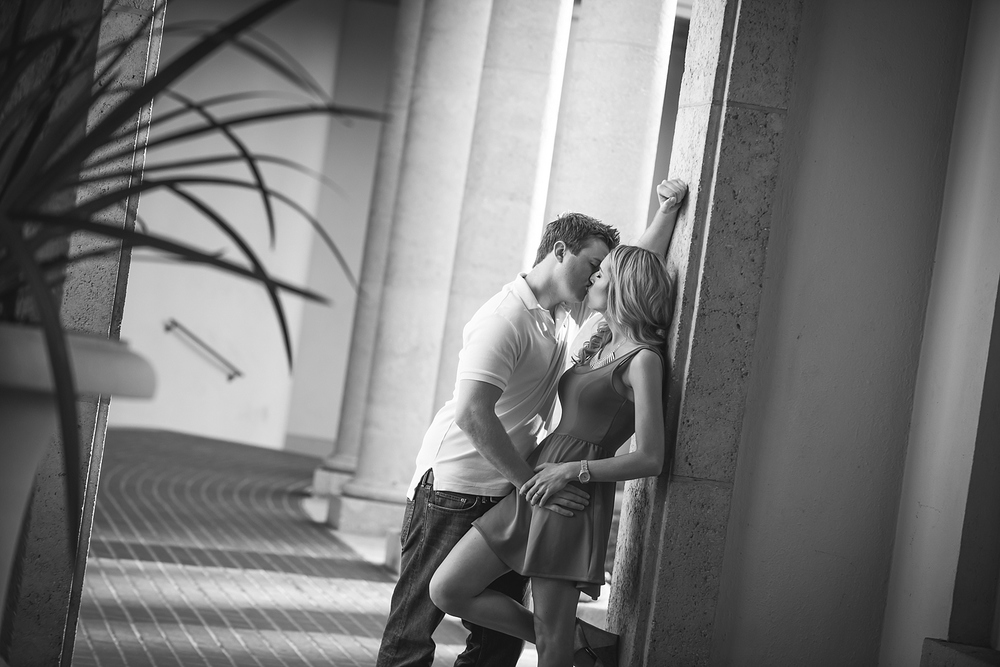 downtown st. pete museum of fine art engagement photos