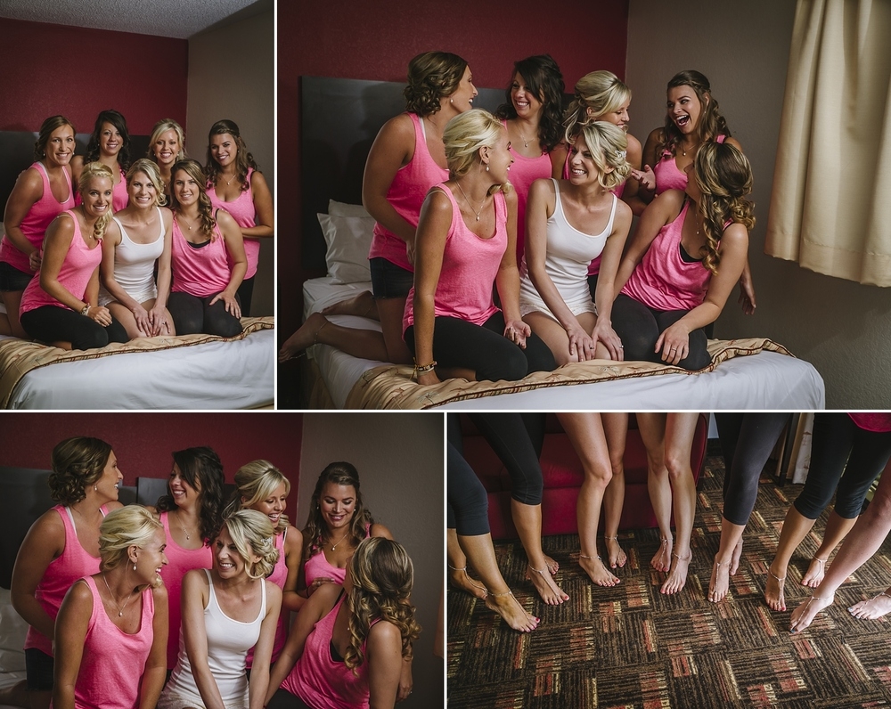 bridesmaids at the sirata