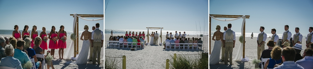 sirata beach wedding photos ceremony