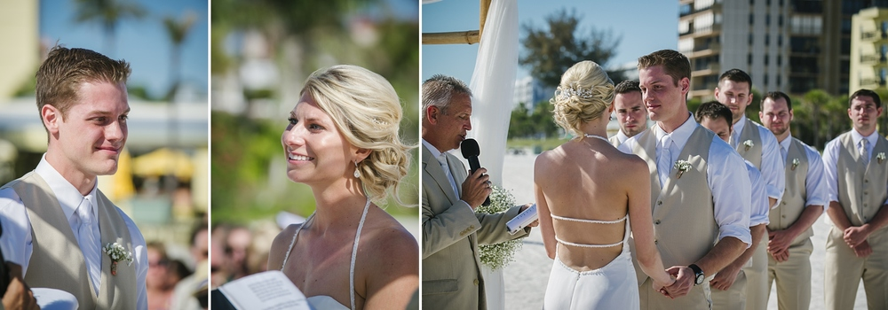 sirata beach wedding photos