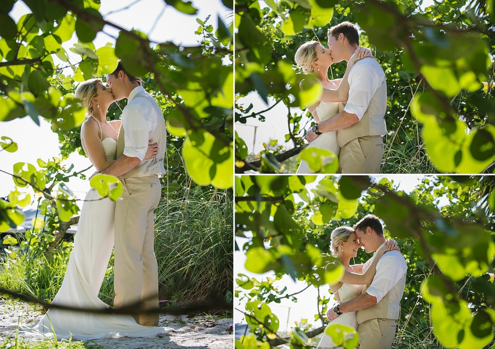 sea grapes sirata beach wedding photos