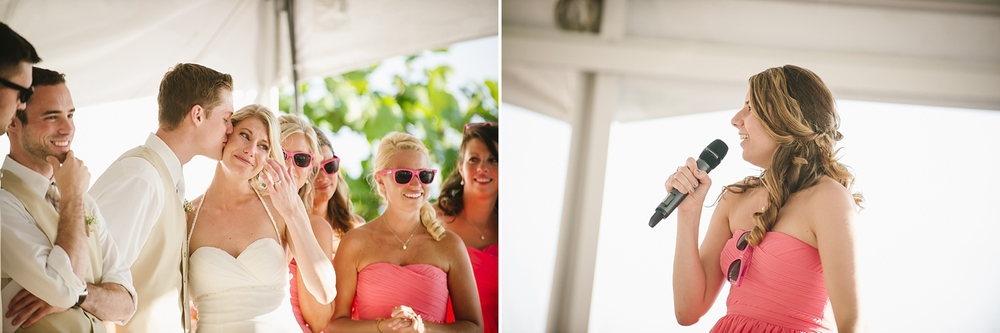 toasts sirata beach wedding photos