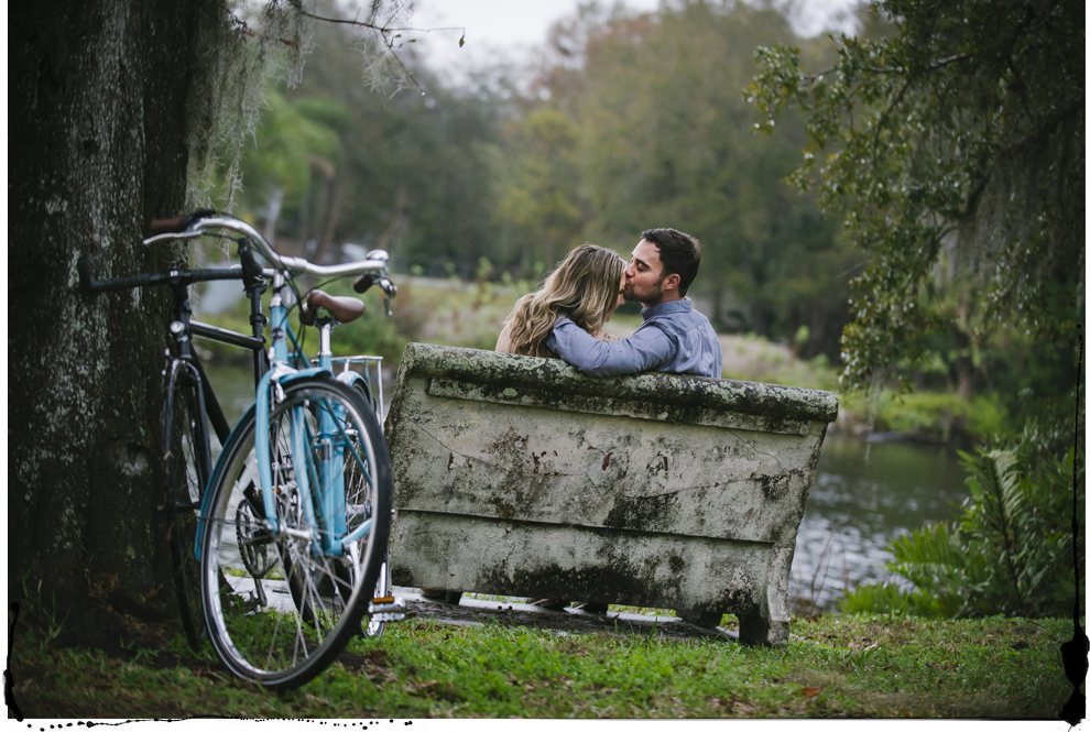 maternity photos with bikes and bench.jpg