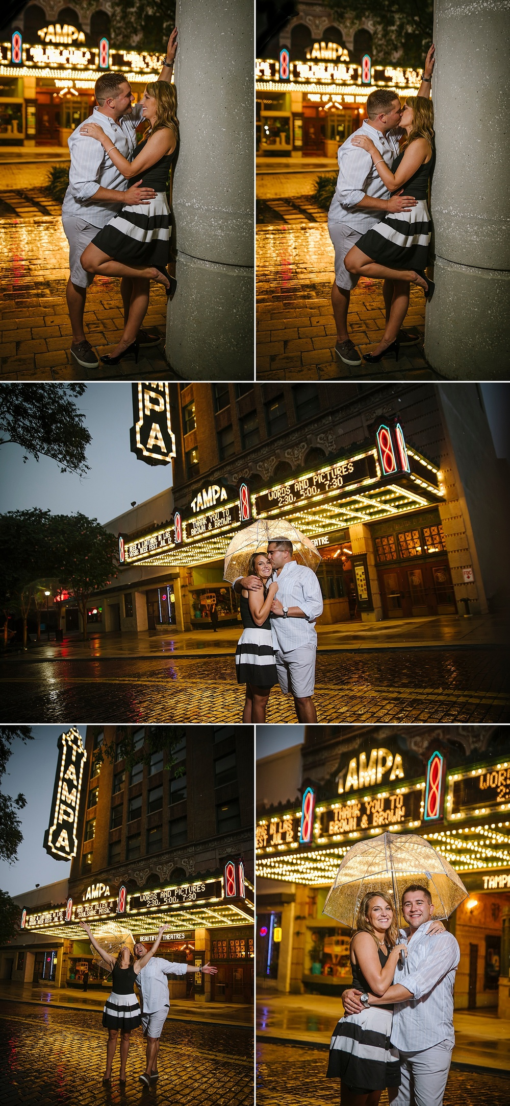 nightlife engagement photography