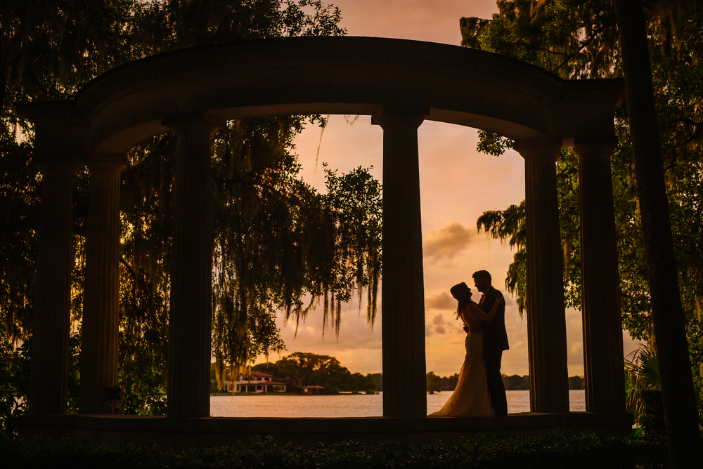 GASP! This is one of my all time favorite photos ever. It reminds me of Gone with the Wind, where my name is from. Krystal & Kevin's elopement in Orlando was gorgeous!! It was such an honor especially since she is also a photographer and an awesome one at that!