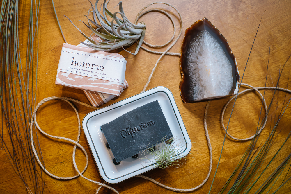 I started the year with Olfaction! These handmade soy soaps and candles are to die for!