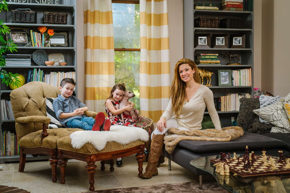 Hehehe I love this little family! And I love that we took some rad editorial style images of the in their own living room!