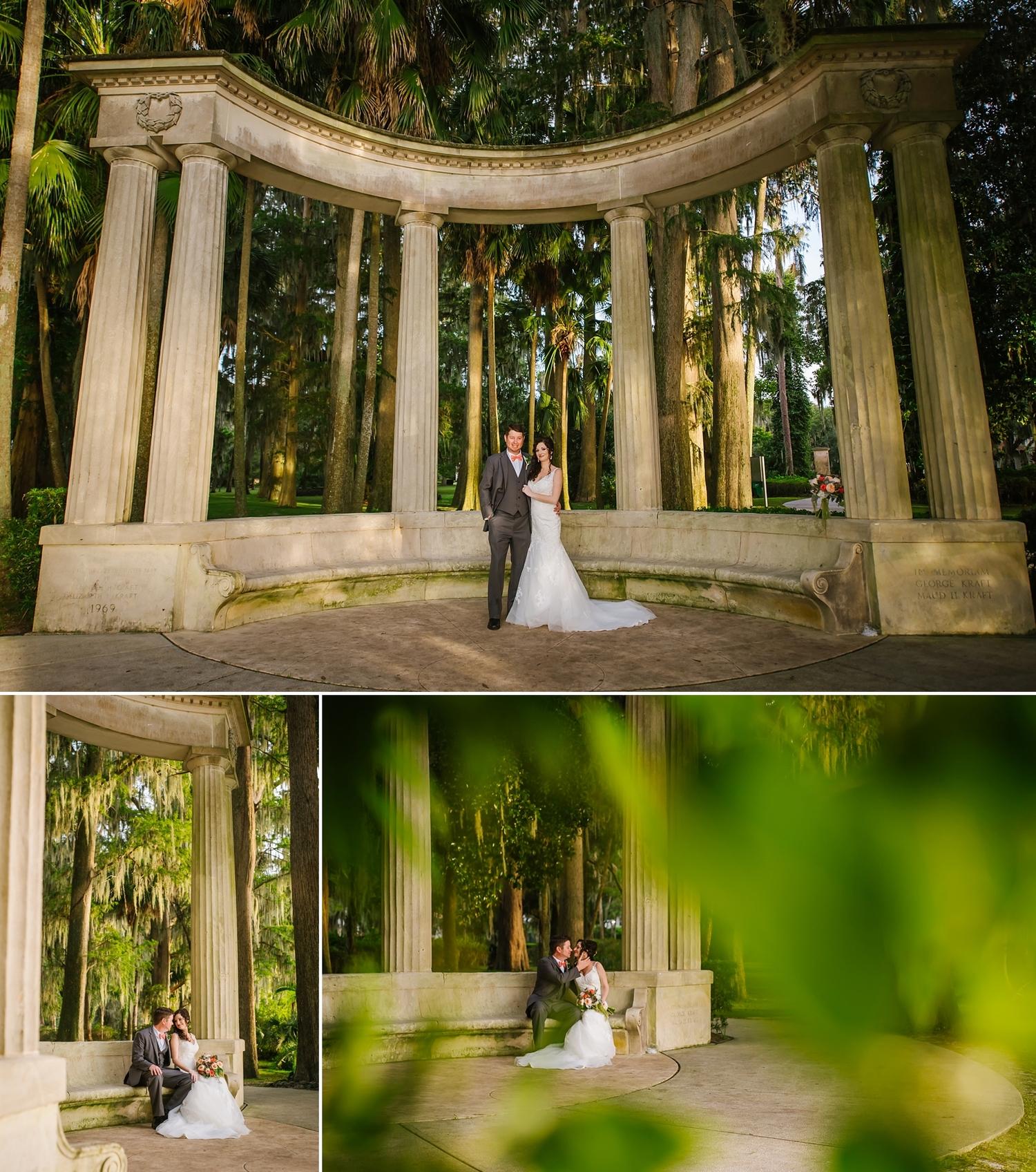 Romantic Garden Elopement | Kraft Azalea — Tampa Wedding Photography ...