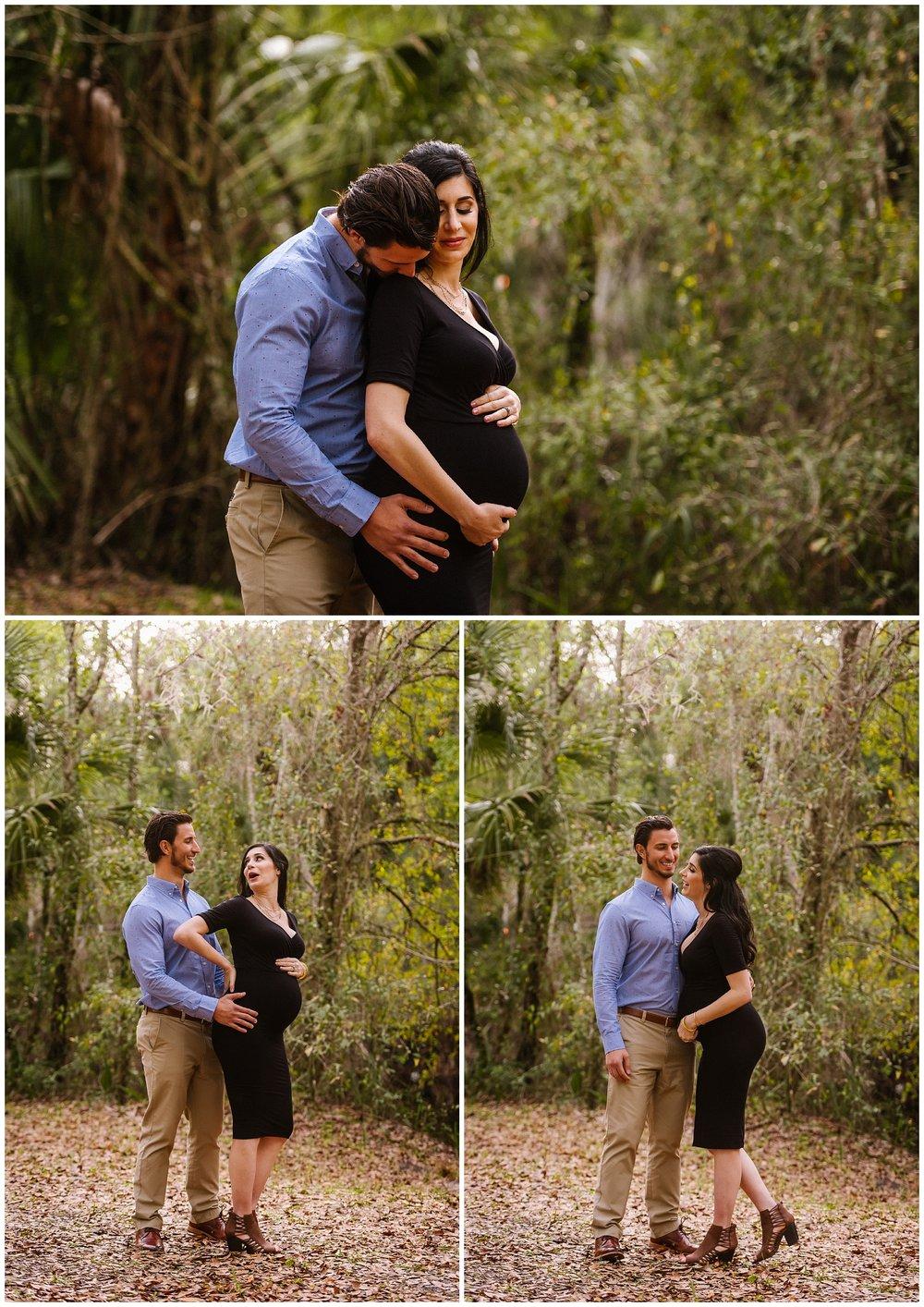 Tampa-maternity-photographer-morris-bridge-park-hip-tight-black-dress-woods_0004.jpg
