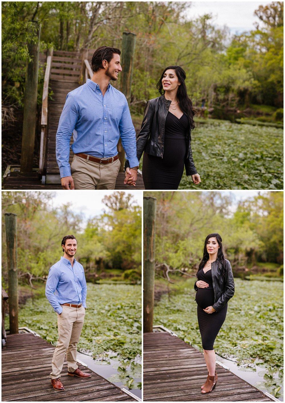 Tampa-maternity-photographer-morris-bridge-park-hip-tight-black-dress-woods_0006.jpg