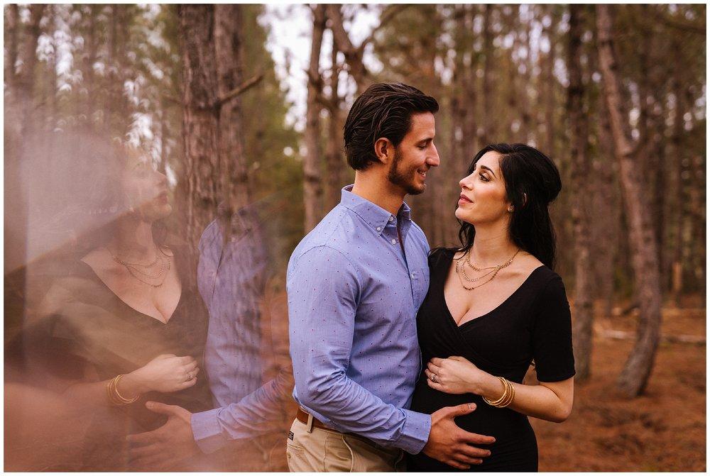 Tampa-maternity-photographer-morris-bridge-park-hip-tight-black-dress-woods_0015.jpg