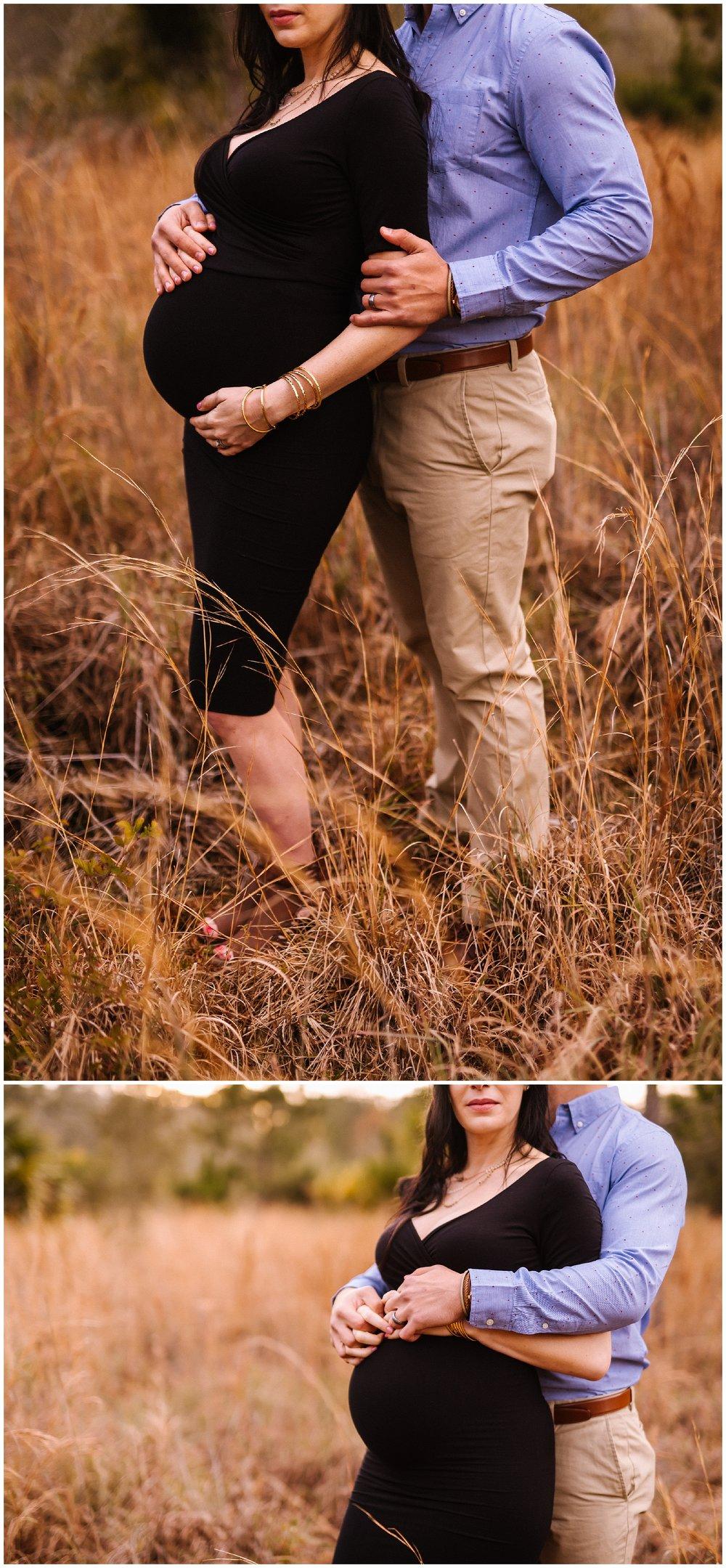 Tampa-maternity-photographer-morris-bridge-park-hip-tight-black-dress-woods_0018.jpg
