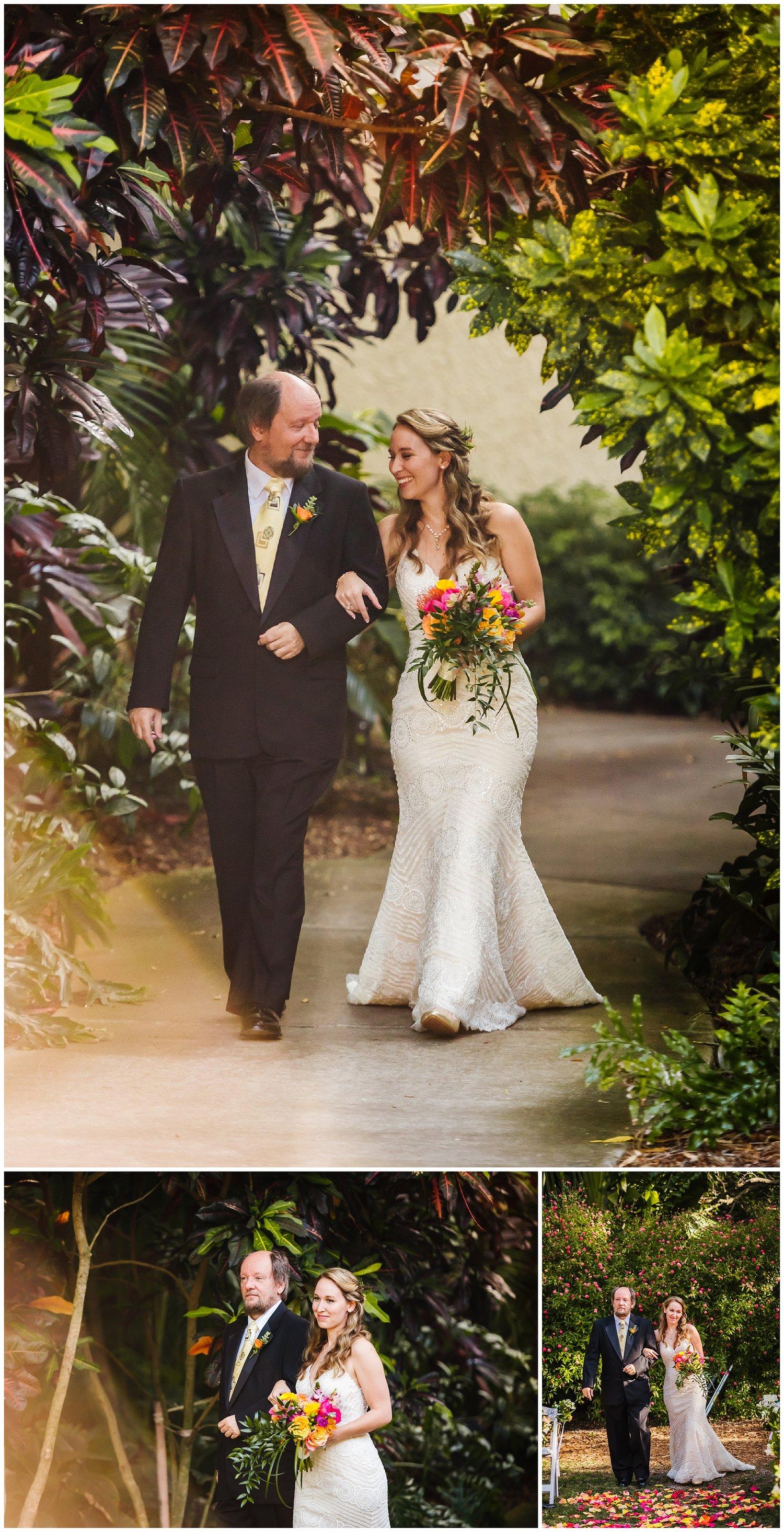 Bright Sunken Gardens Wedding — Tampa Wedding Photography ...