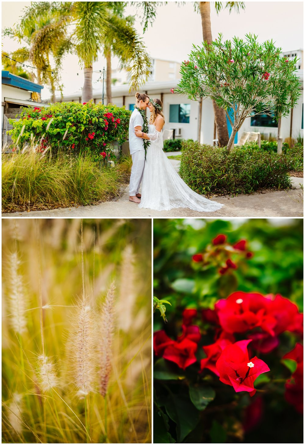 tampa-bay-wedding-photographer-barefoot-post-card-inn-tropical-hawaiin-lei-pink-pineapples-flower-crown_0156.jpg