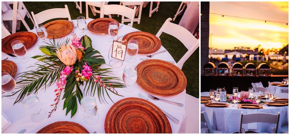 tampa-bay-wedding-photographer-barefoot-post-card-inn-tropical-hawaiin-lei-pink-pineapples-flower-crown_0188.jpg