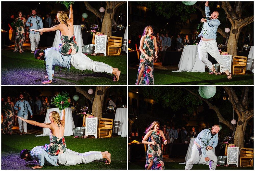 tampa-bay-wedding-photographer-barefoot-post-card-inn-tropical-hawaiin-lei-pink-pineapples-flower-crown_0195.jpg