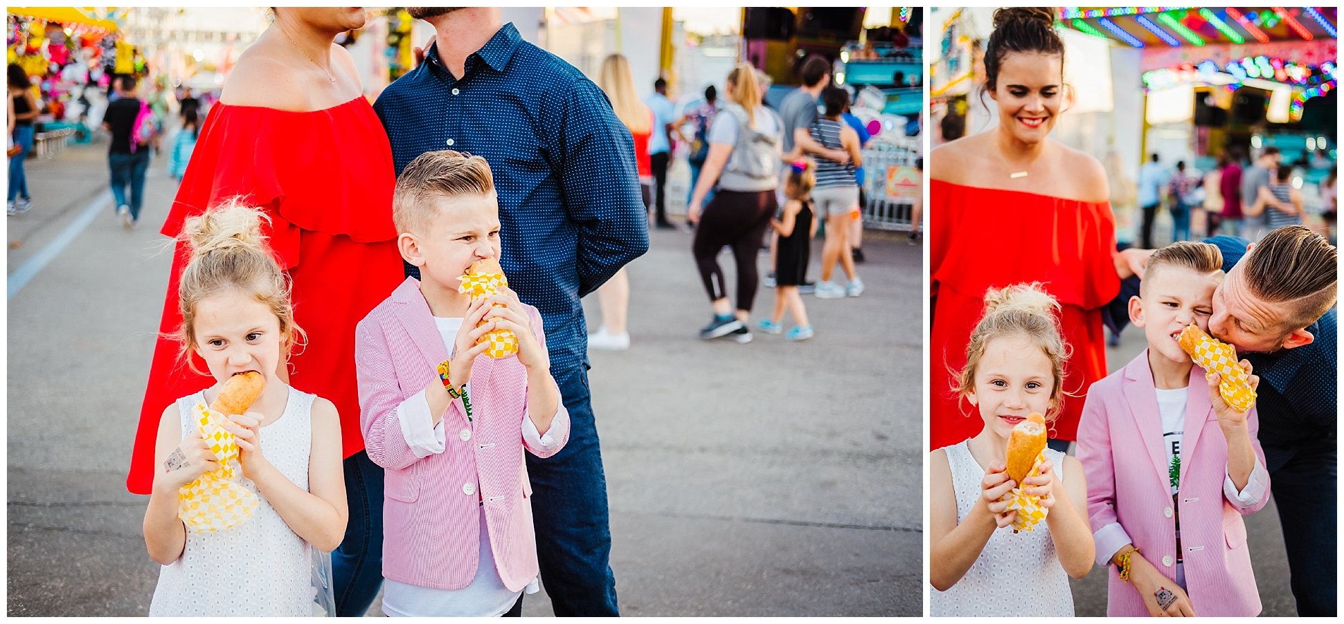 The Steward\'s Colorful and Fun Tampa Fair Family Session — Tampa ...