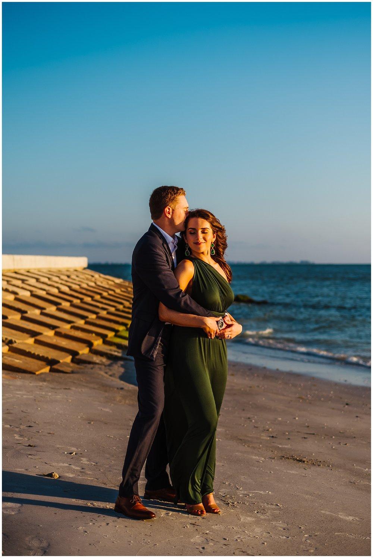 tampa-fort de soto-beach-green dress-water-love-engagement_0035.jpg