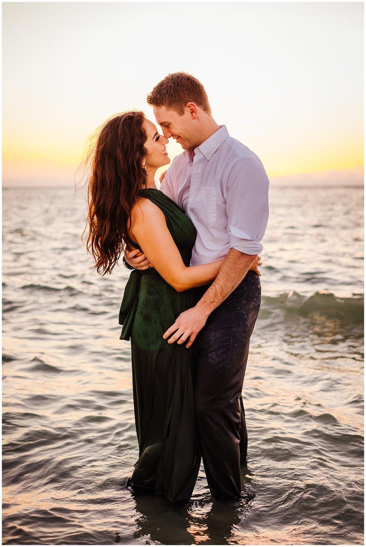 tampa-fort de soto-beach-green dress-water-love-engagement_0057.jpg
