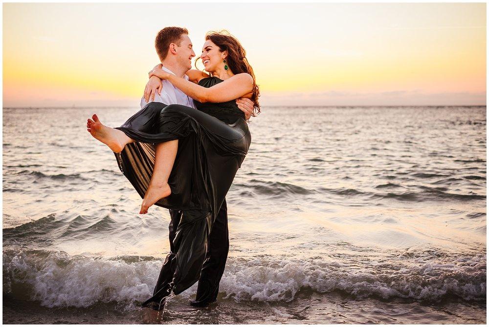 tampa-fort de soto-beach-green dress-water-love-engagement_0059.jpg