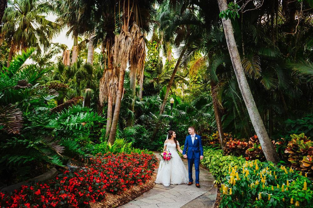 Sunken Gardens Wedding.Fairytale Sunken Gardens Wedding Tampa Wedding Photography