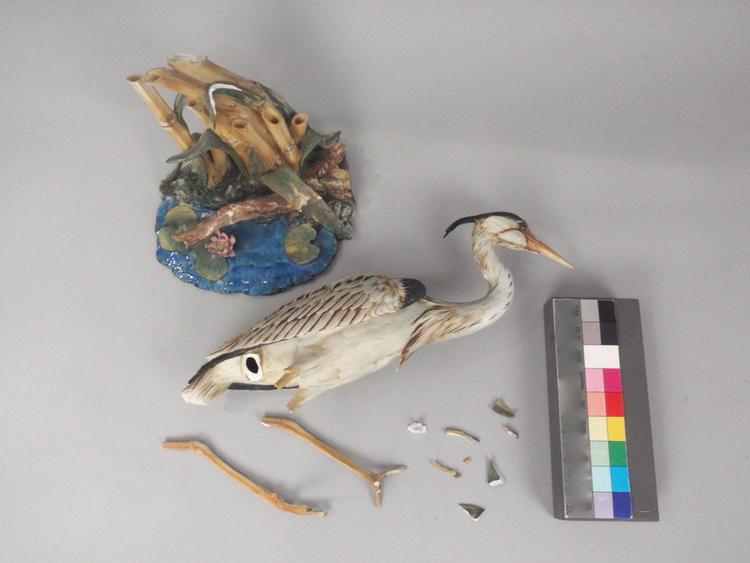 Ceramic Heron