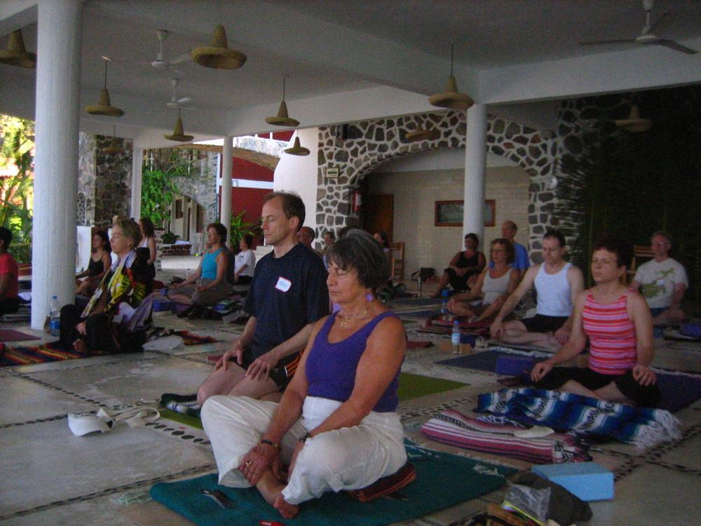 Mexico '08 - Sotavento - Yogis Meditating.JPG