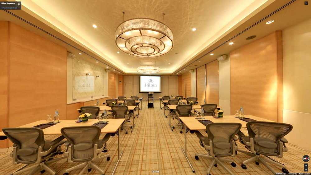 Meeting Room at Hilton Hotel