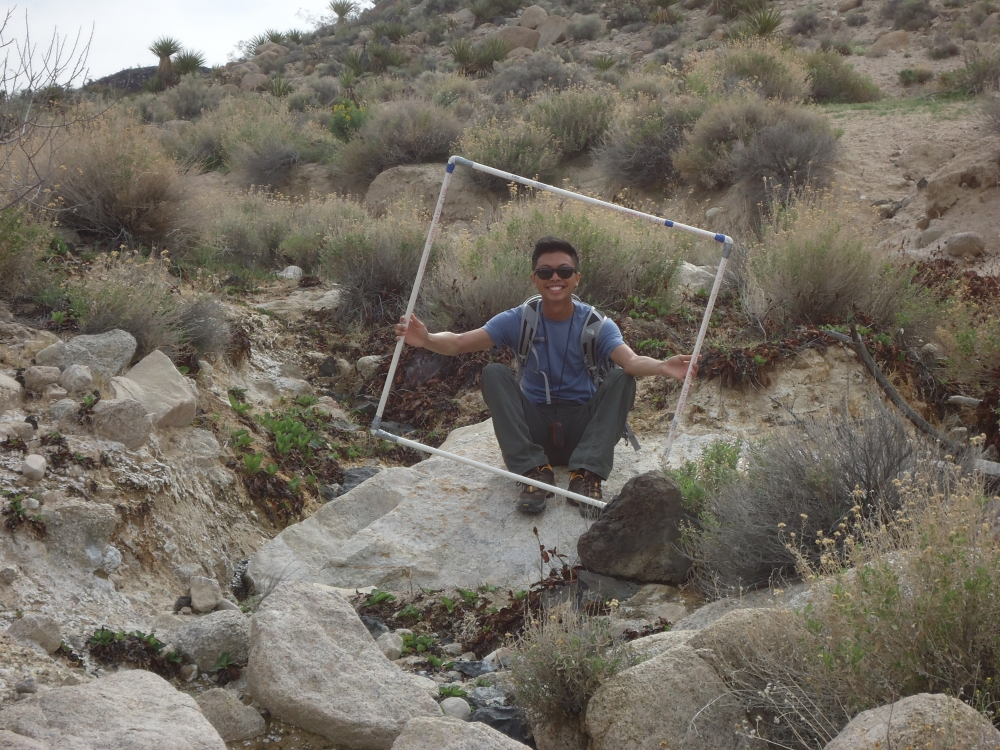 Martin Reyes is a civil engineer in training for the County of Los Angeles and a Blueprint Earth volunteer.