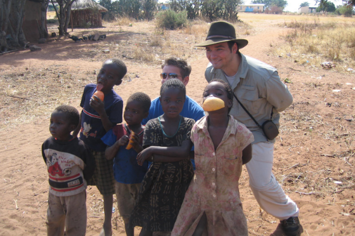 Hat-wearing Stewart Mittnacht, shown here in Africa, is no stranger to fieldwork. He volunteers with Blueprint Earth as a science writer and field surveyor. He has a large collection of undergraduate degrees and grew up on a steady diet of Carl Sagan and Isaac Asimov.