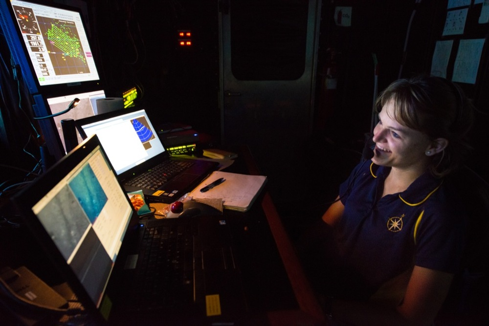 Clara Smart's ocean research has taken her around the world, where she has worked with engineers, geologists and other scientists to study and understand hydrothermal vents.