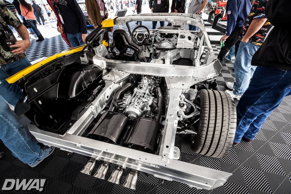 C7 Corvette cut-away