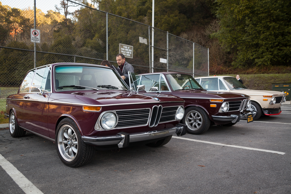Three roundie BMW 2002s
