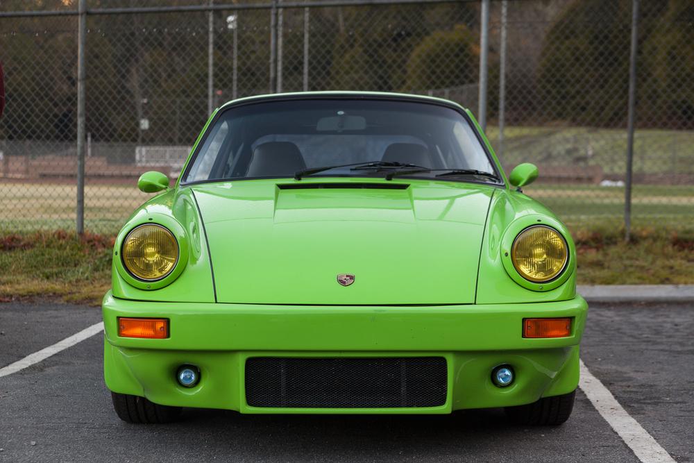 IROC influenced Porsche 911 in Viper Green