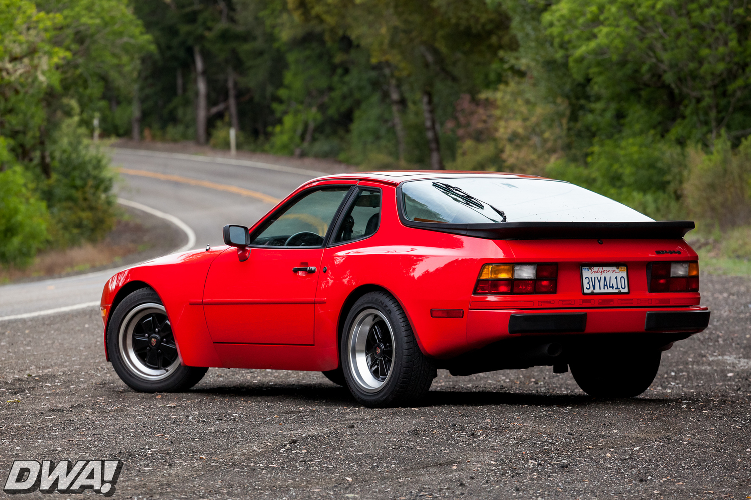 back in a porsche 944and it feels sooo good! — dwa!