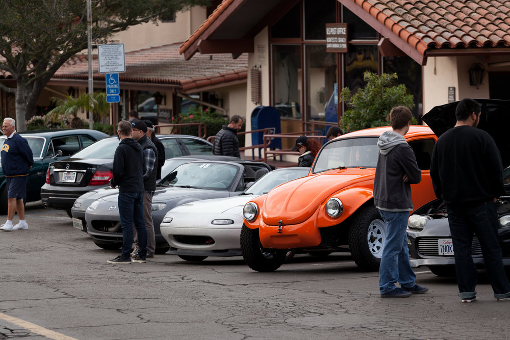 SB cars and coffee