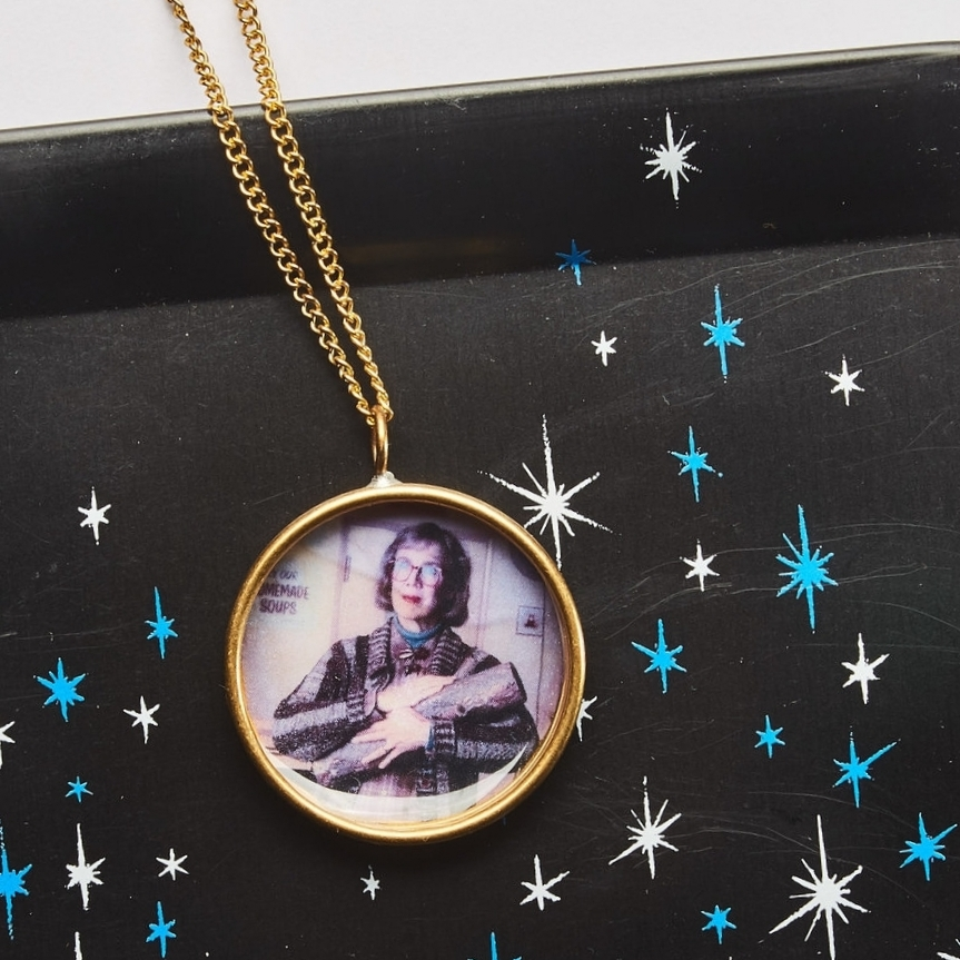 Twin Peaks Log Lady Necklace $7.99