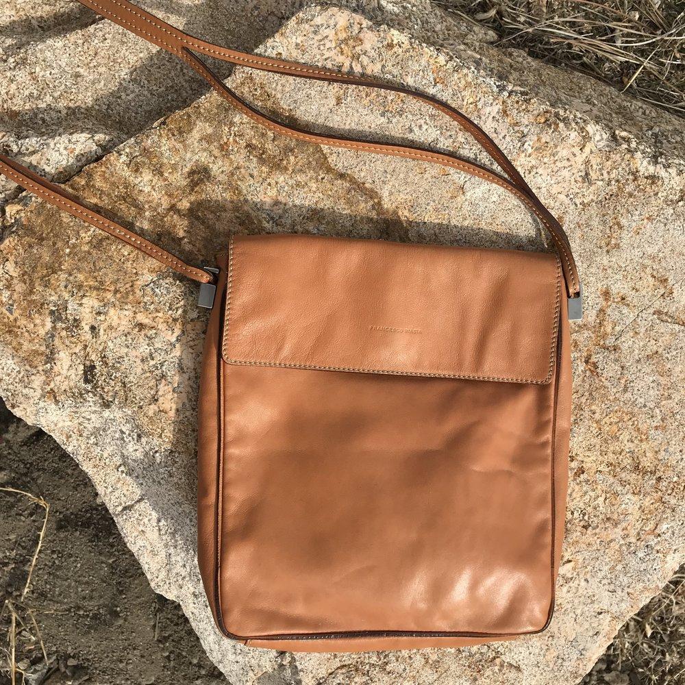 90s Francesco Biasia Leather Bag $12.00