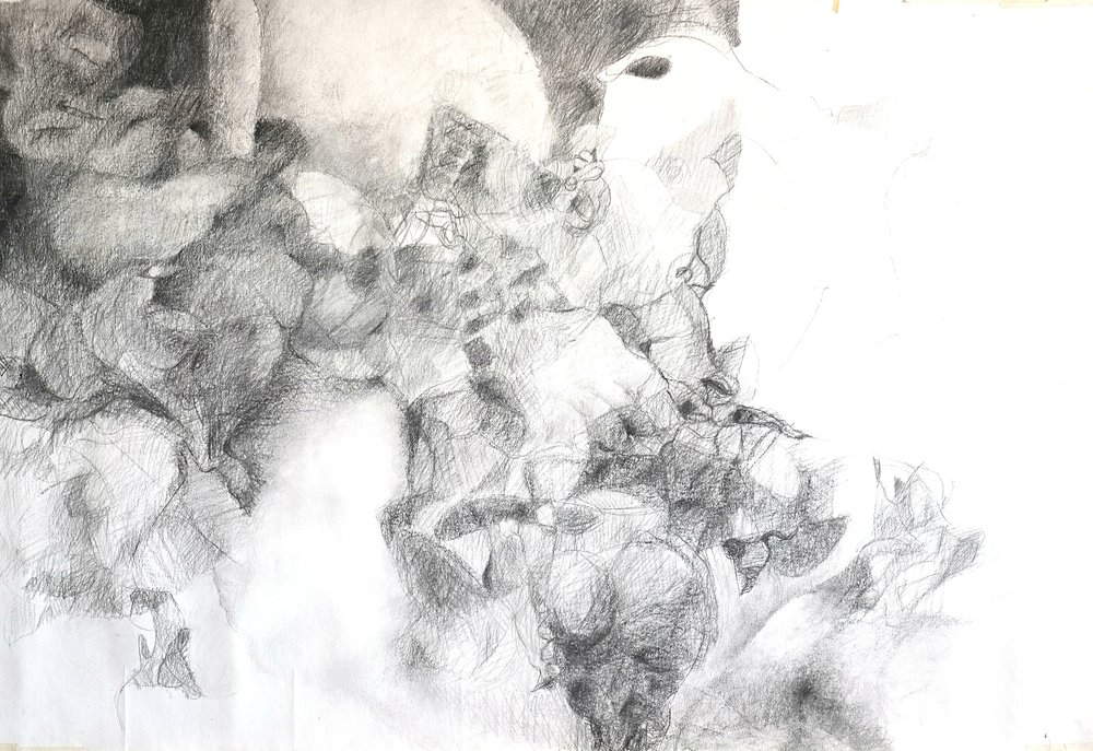 Ruuhka, 170 x 140, 1997, Soile Kortesalmi