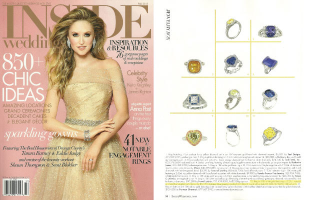 Inside Weddings Magazine Fall 2013