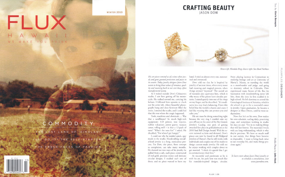 Flux Magazine - Winter 2010