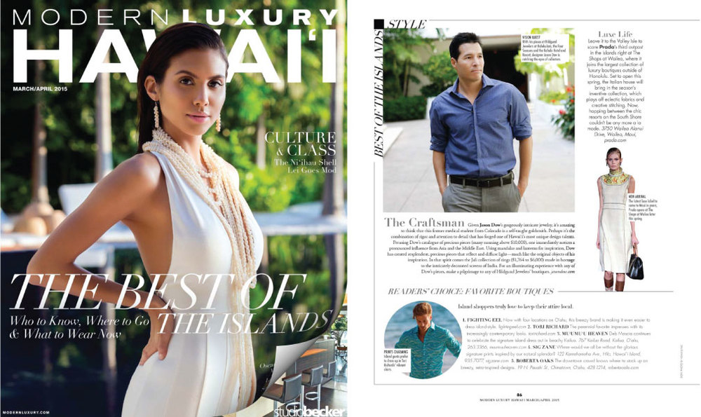 Hawaii Modern Luxury - April 2015