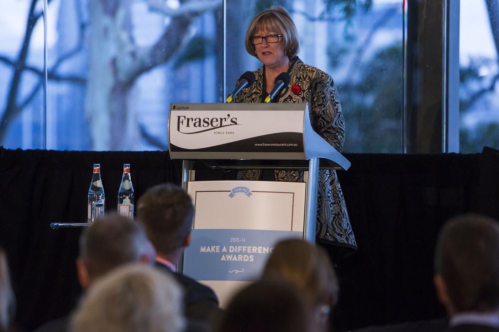 Minister for Mental Health; Hon Helen Morton MLC