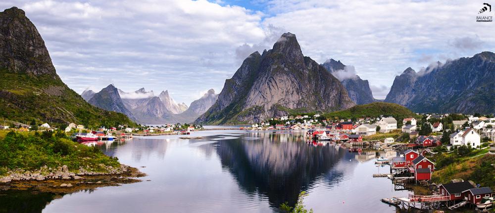 Reine auf den Lofoten in Norwegen