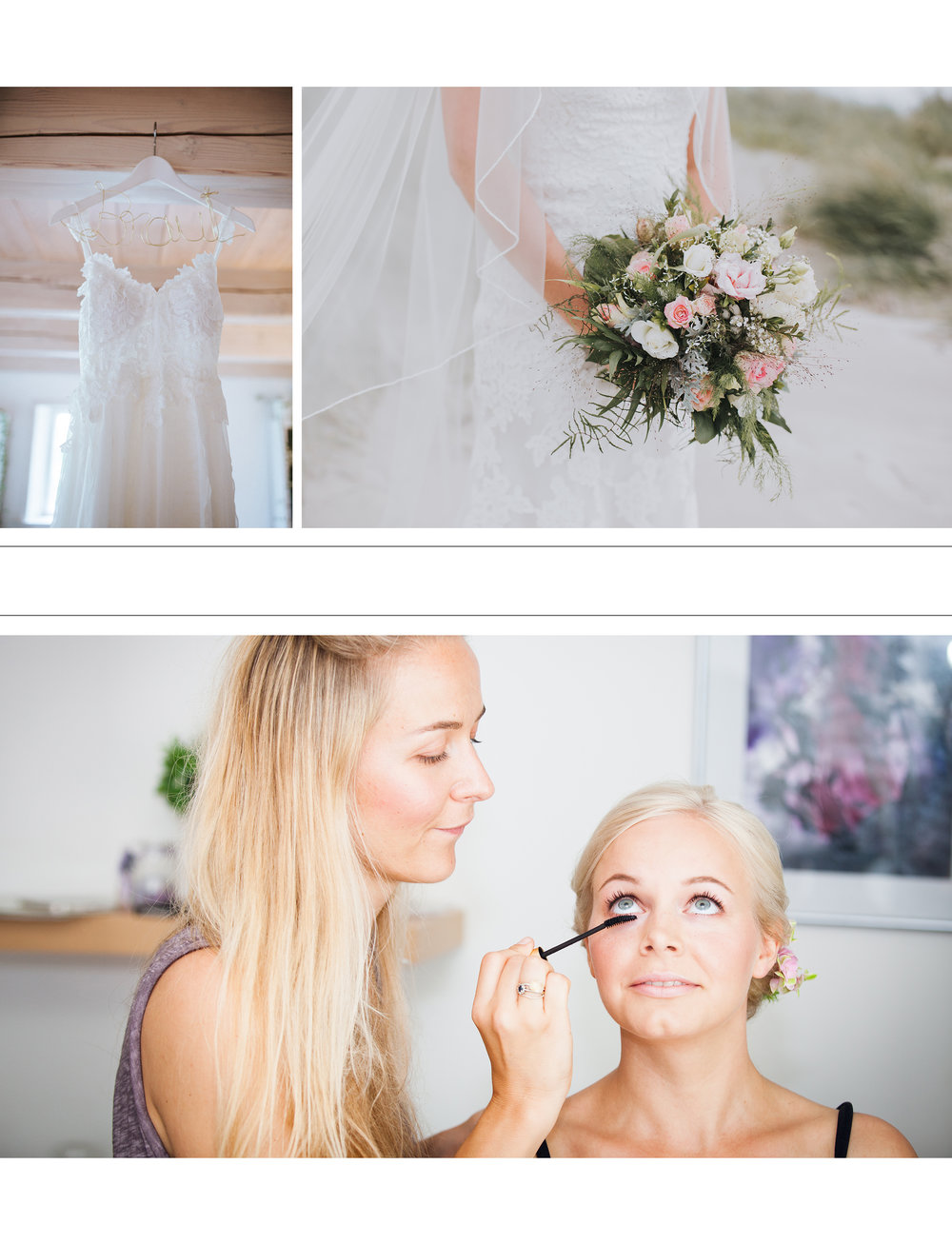 Ankleide - Hochzeit - Braut - Fotograf