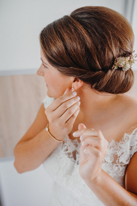 Getting Ready - Hochzeit
