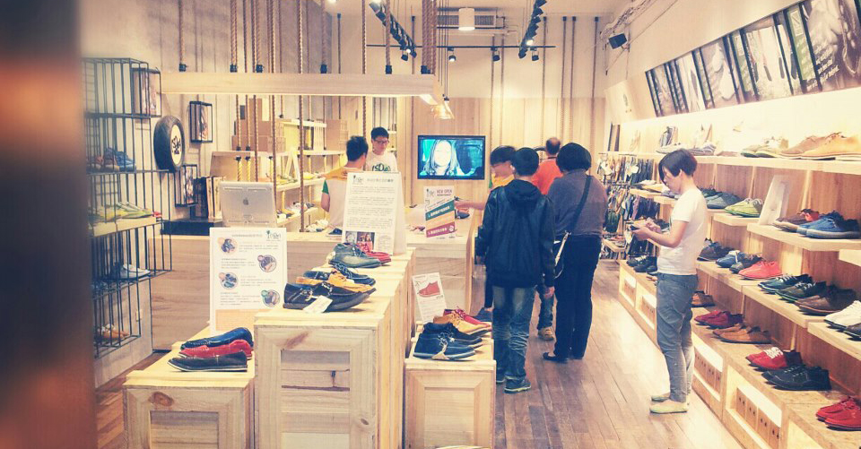 soleRebel's international brand success is exemplified by their trendy store in Tawain
